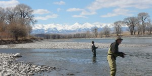 On the Yellowstone, in the shadow of the Crazies